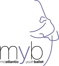 Mid-Atlantic Youth Ballet Logo
